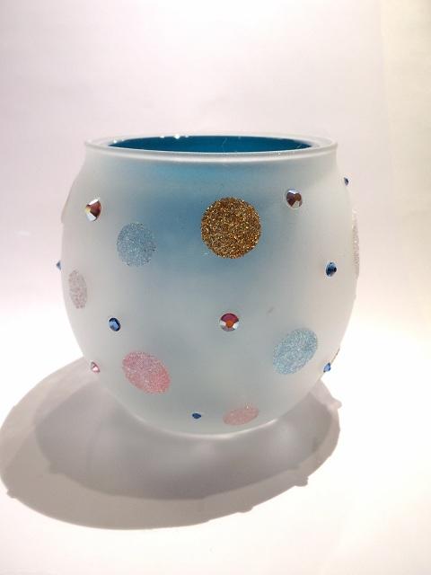 アロマキャンドルカップ<br> 『青』の画像