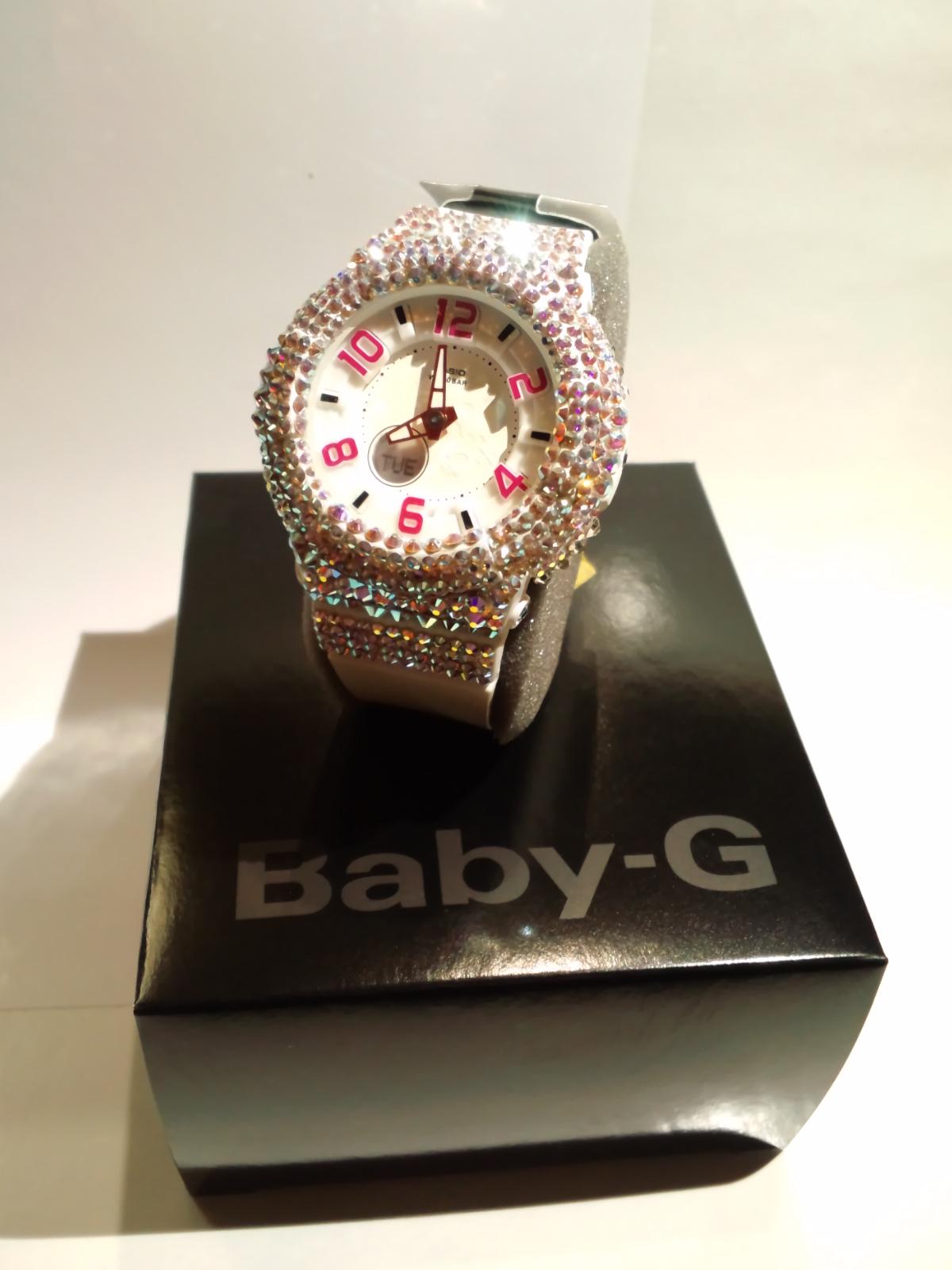 スワロ時計<br> 『Baby-G ホワイト 腕時計』の画像