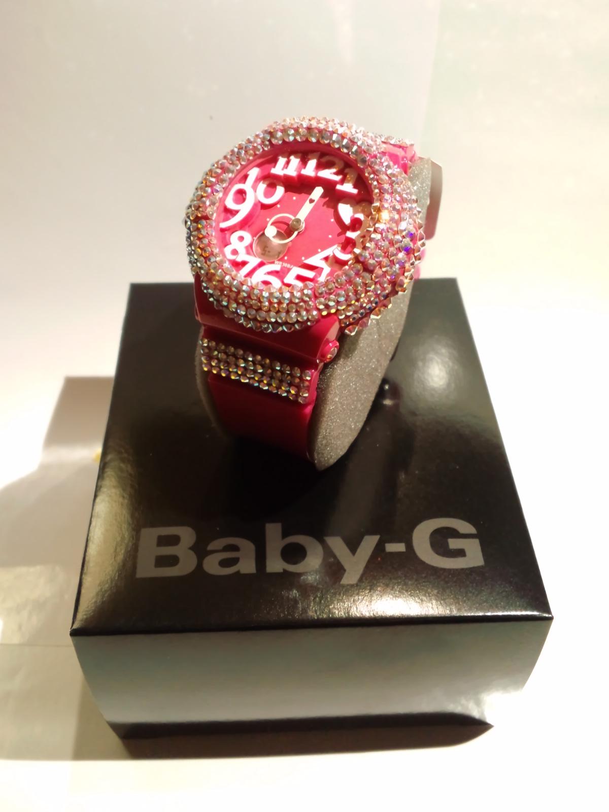 スワロ時計<br> 『Baby-G ピンク 腕時計』の画像