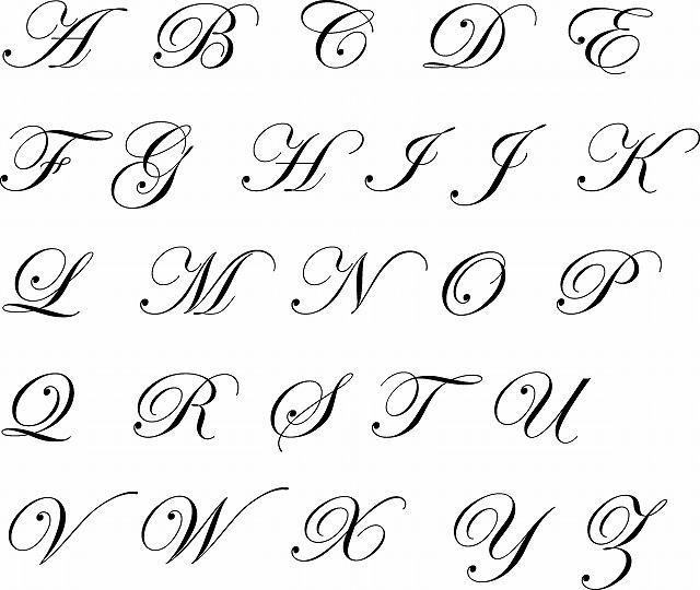 字体サンプル